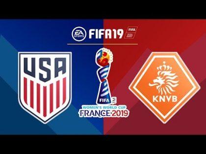 FIFA 19 | USA x Netherlands | FIFA Women's World Cup 2019