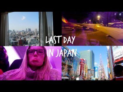 Last Day in Tokyo + Travelling Home | Japan Travel Vlog