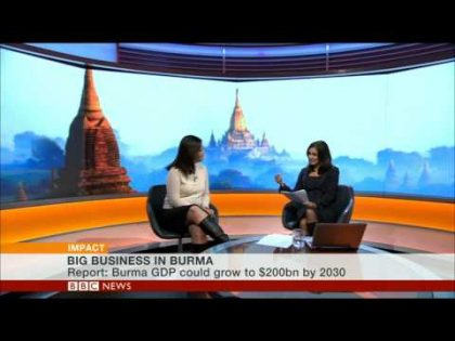 Is Burma open for business? BBC World News discusses the challenges
