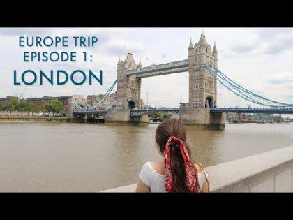 London Travel Vlog 🇬🇧 – Europe Trip Episode 1