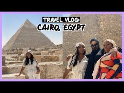 INSIDE THE GREAT PYRAMIDS OF GIZA!! | EGYPT TRAVEL VLOG