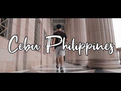 Cebu Philippines Cinematic Travel Vlog 2019