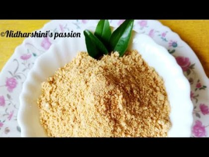 HOW TO MAKE TASTY IDLI PODI/DOSA PODI|FOOD RECIPE