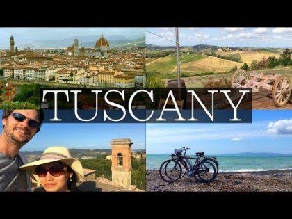 Tuscany Week Long Road Trip Vlog | Florence, Siena, Pisa, Wine Tasting, Things to Do