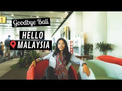 Bali to Kuala Lumpur, Malaysia | Airport Travel VLOG 2019
