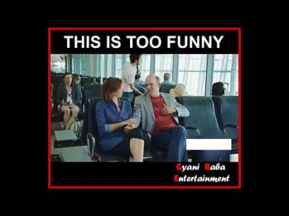 Funny Fart Video | Fart in airport's Announce mic | Fun In Airport | WhatsApp Video