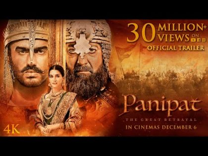 Panipat | Official Trailer | Sanjay Dutt, Arjun Kapoor, Kriti Sanon | Ashutosh Gowariker | Dec 6