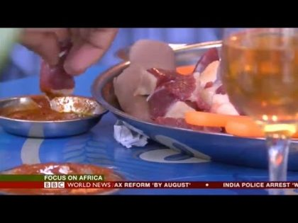 Ethiopia's Love for Raw Meat – BBC World News