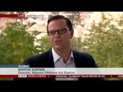 MOAS Director Martin Xuereb talks to BBC World News