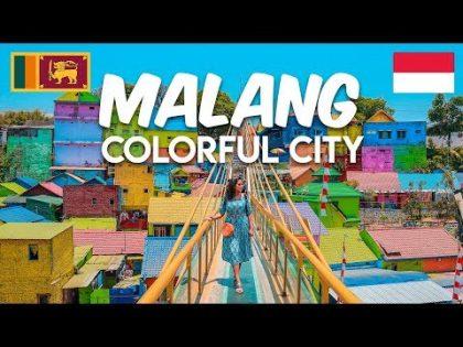 Malang Rainbow Village | Jodipan Indonesia | Bali Travel Guide | TRAVEL VLOG #20.5