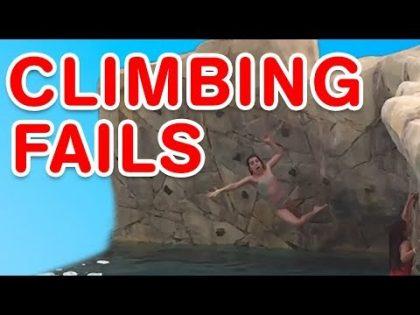 Climbing Fails   Funny Fail Compilation