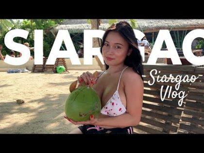 Pandora in Siargao Island Phillipines travel vlog