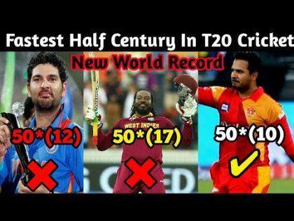 Fastest 50* (10) in T20 Cricket || Cricket news || Cricket Fans Club
