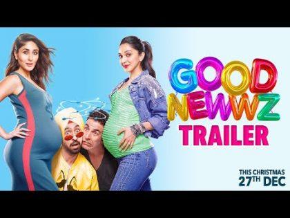 Good Newwz – Official Trailer | Akshay, Kareena, Diljit, Kiara | Raj Mehta | In cinemas 27th Dec