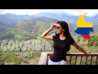 My first time in Colombia   Travel Vlog