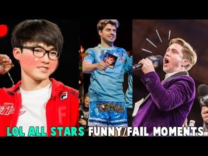 LOL ALL-STARS 2016 FUNNY/FAIL MOMENTS – League of Legends