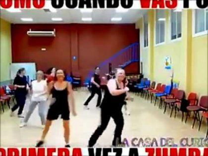 First Time at Zumba Class   Erste Klasse   Funny Fail Dance &25 hf4hs