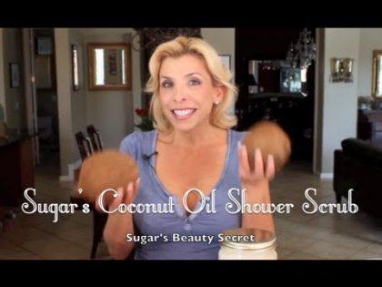 Organic Virgin Coconut Oil Sugar Shower Scrub – Health and Beauty Secrets