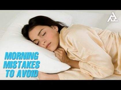 Morning Mistakes To Avoid   Best Health and Beauty Tips   Lifestyle
