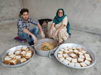 SPICY POTATO SANDWICH By My GRANNY | Sandwich recipe | Special SandWich | Indian | Street food