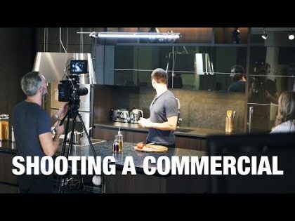 Directing a TV Commercial from Start to Finish