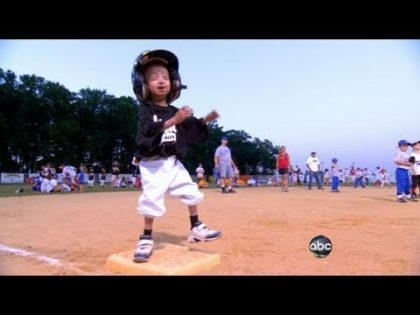 Pint-Sized Boy's Big Baseball Dream | ABC World News Tonight | ABC News