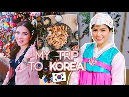 KOREA TRAVEL VLOG   | Alexa Ilacad