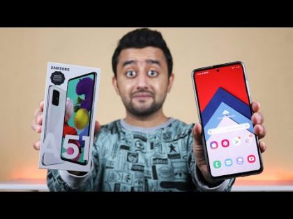 Samsung Galaxy A51 – Unboxing and Price in Pakistan