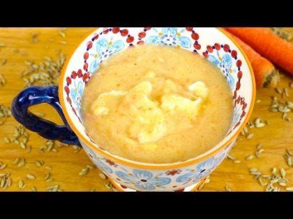 Semolina Carrot Fennel – baby food recipe +6M