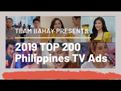2019 Philippines' Best TV Commercial Part 1 (1 hour video with 200 TV Ads)