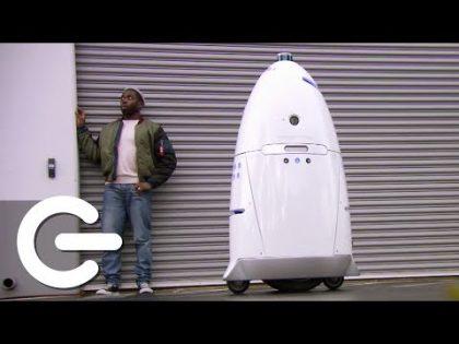 Security Robots – The Gadget Show