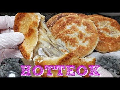 My Mother In Law's Hotteok Recipe | Korean Street Food Recipe | Korean Sweet Fried Pancakes