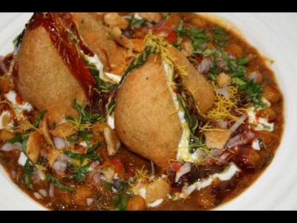 Indian Street Food recipe| Sabrini Choley Samosa Chaat | By chef Harpal Singh Sokhi