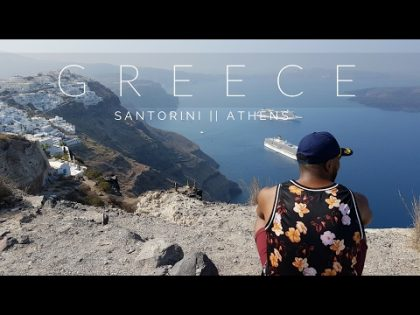 SANTORINI // ATHENS (Travel Vlog)