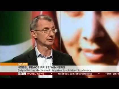 Kevin Watkins on Kailash Satyarthi winning the Nobel prize – BBC World News