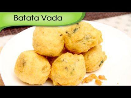Batata Vada | Potato Dumplings | Mumbai Street Food | Indian Fast Food Recipe by Ruchi Bharani