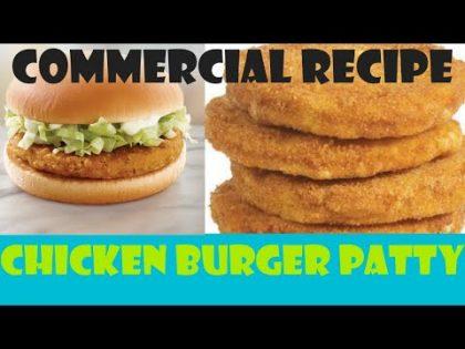 Chicken Burger Patty Recipe | Frozen Food Recipe |Homemade Burger Patty-Recipe Hub With Lubna