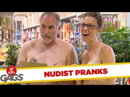 Nudist Pranks – Best of Just For Laughs Gags