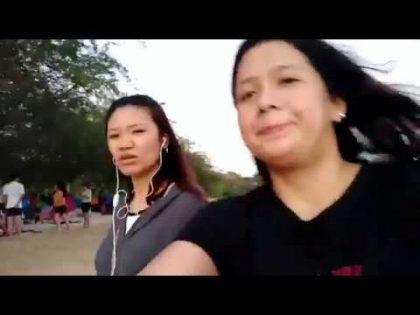 Filipina Girl On Karachi Vist . Full Girls Enjoy Mint 2019