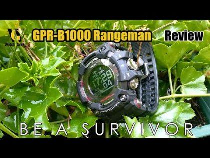 GPR-B1000 Rangeman G-Shock Review – Gadget or a Tool?
