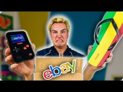 I Spent $1,120 On Weird Gadget eBay Mystery Boxes…