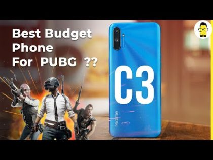 Realme C3 unboxing and hands-on review | PUBG on a Budget!