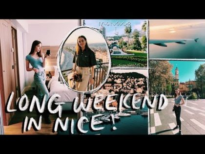 A Weekend in My Life in Nice (Travel Vlog)