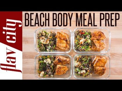 Beach Body Meal Prep – Tasty Weight Loss Recipes With Chicken Breasts