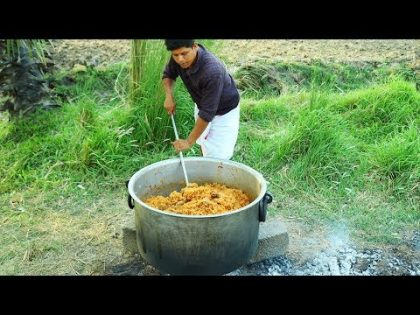 Traditional Chicken Biryani | Chicken Biryani Recipe | Donating for Orphanage – Village Food Channel