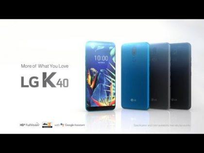 LG K40: Product Video