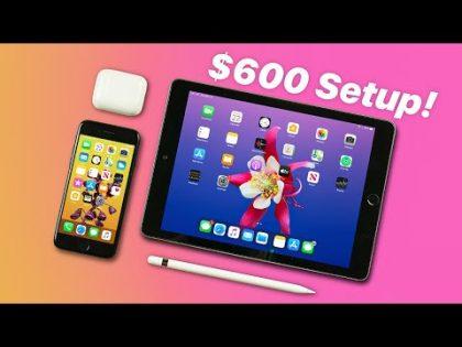 $600 Apple Ecosystem Setup! | iOS + iPadOS (2020)