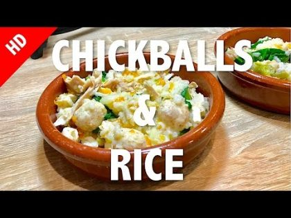 CHICKBALLS & RICE – healthy dog food recipe