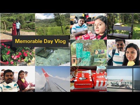 Travel Vlog/Chennai to Coimbatore Flight Journey/అక్కడనుండి ఎక్కడికి వెళ్ళామో చూడండి/AmulyaVlogs