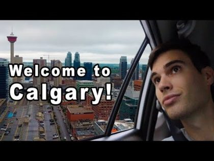First Time in CALGARY! 🇨🇦 Calgary, Alberta Travel Vlog